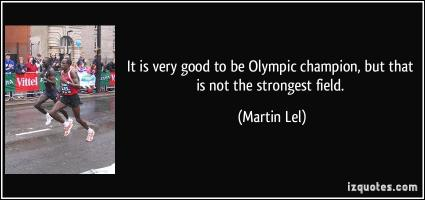 Martin Lel's quote #5