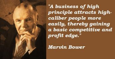 Marvin Bower's quote