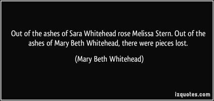 Mary Beth Whitehead's quote