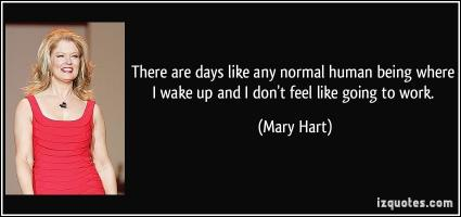 Mary Hart's quote