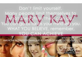 Mary Kay Ash's quote