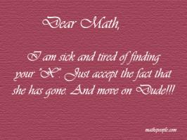 Maths quote