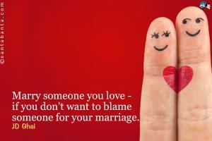 Matrimony quote #1