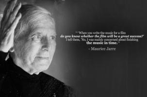 Maurice Jarre's quote