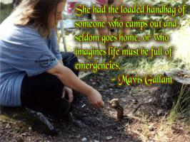 Mavis Gallant's quote