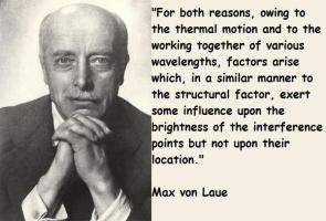 Max von Laue's quote