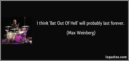 Max Weinberg's quote