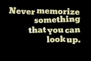 Memorize quote #1