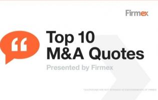 Mergers quote #1