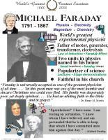 Michael Faraday's quote