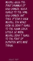 Michael Giles's quote