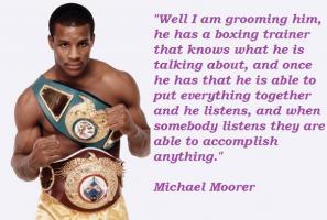 Michael Moorer's quote #3