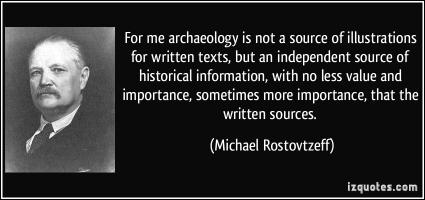 Michael Rostovtzeff's quote