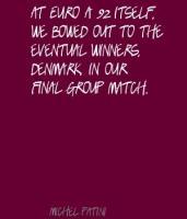Michel Patini's quote