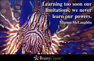Mignon McLaughlin's quote