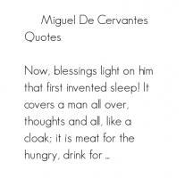 Miguel de Cervantes's quote