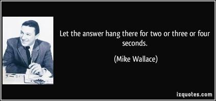 Mike Wallace's quote