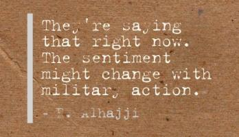 Military Action quote #2