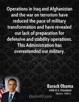 Military Operations quote #2