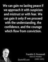 Mistrust quote #4