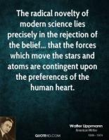 Modern Science quote