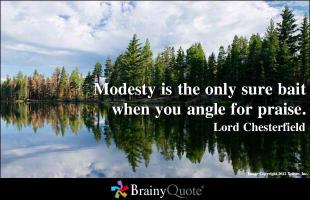 Modestly quote #2