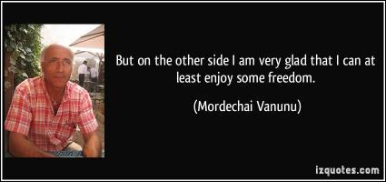 Mordechai Vanunu's quote