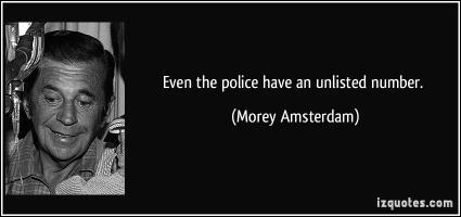 Morey Amsterdam's quote