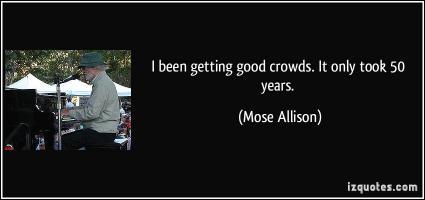 Mose Allison's quote