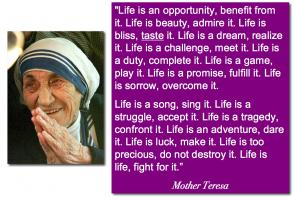 Mother Teresa quote #2
