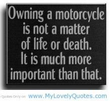 Motorbike quote #2