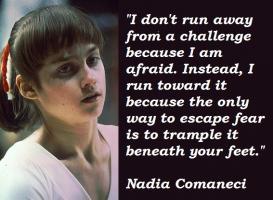 Nadia Comaneci's quote