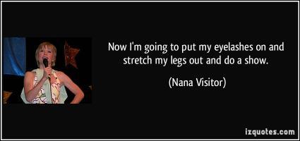 Nana Visitor's quote #2