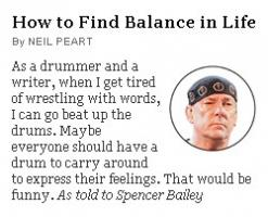 Neil Peart's quote