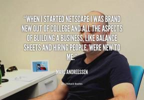 Netscape quote