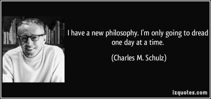 New Philosophy quote