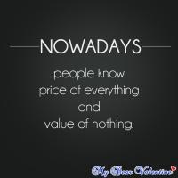 Nowadays quote