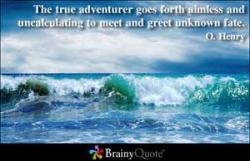 O. Henry's quote