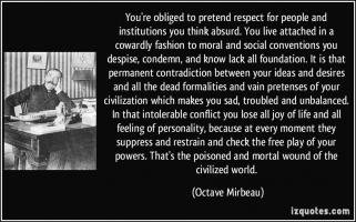 Octave Mirbeau's quote #1