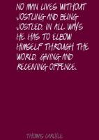 Offence quote #1