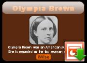 Olympia Brown's quote