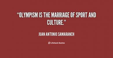 Olympism quote