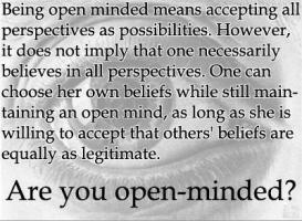 Open-Minded quote