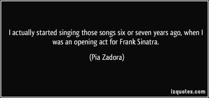 Opening Act quote #2