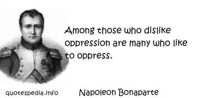 Oppress quote #1