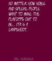Orel Hershiser's quote