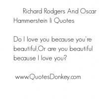 Oscar Hammerstein II's quote #6