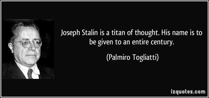 Palmiro Togliatti's quote