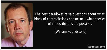 Paradoxes quote #2