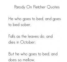 Parody quote #2